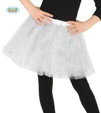 White Glitter Sparkle Tutu Children's