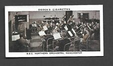 Ogden's - Broadcasting ( 1935). Card # 12 - BBC Northern Orchestra. VGC