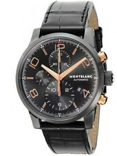 Montblanc Men's 43mm Crocodile Leather Band Steel Case Automatic Watch 105805