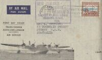AFC113) TEAL first flight regular airmail between Australia and New Zealand