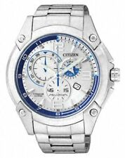 Citizen AT0861-54A - Reloj analógico de Cuarzo para Hombre con Correa de Acero I