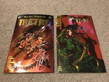 Dark Nights Metal 6 / Batman 43 Awsome Con Foil variants Signed By Creators NM+