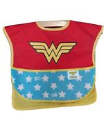 Bumkins DC Comics Wonder Woman Super Bib with Cape 6-24 Months Baby Bib Costume