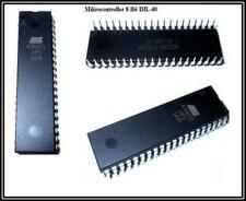 Atmel microcontroladores de 8 bits dil-40, at89s51-24pu 2 piezas
