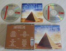 BOX 2 CD ALBUM THE VERY BEST OF EARTH WIND & FIRE 30 TITRES 1991