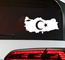 Türkei Aufkleber türkiye turkey Flag Sticker Türkei Fahne Decal Premium Folie