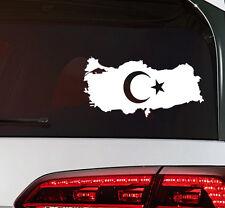 Türkei Aufkleber türkiye turkey Flag Sticker Türkei Fahne Decal Premium Folie