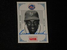 AMADO SAMUEL 1991 WIZ SIGNED AUTOGRAPHED CARD #341 NEW YORK METS