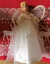 VINTAGE CHRISTMAS DECORATION FAIRY ANGEL TREE TOPPER