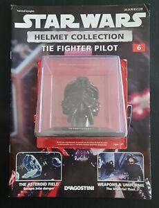 "Star Wars Helmet ""Tie Fighter Pilot"" Issue 6 ""Deagostini"" Collection"