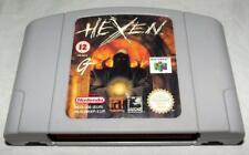 Hexen Nintendo 64 N64 PAL