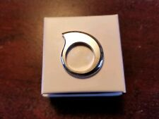 RACHEL QUINN Modern 925 SOLID Sterling Silver Minimalist Ring Size 6