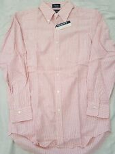 Gant By New York USA Red Stripe Long Sleeve Button Shirt Size 39 Sleeve 82
