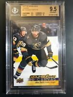 2017-18 Upper Deck Alex Tuch Young Guns Canvas Rookie BGS 9.5 True Gem Mint