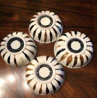Four (4) Vintage Studio Pottery Art Pottery Mid-century Modern Design Bowls