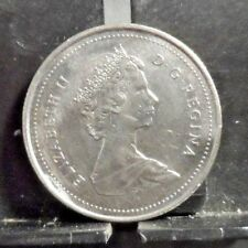 CIRCULATED 1988 25 CENTS CANADIAN COIN (122418)R1.....FREE DOMESTIC SHIPPING!!!!