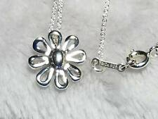 Tiffany & Co. Paloma Picasso Sterling Silver Daisy Flower Pendant Necklace