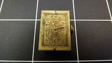 Antique ELGIN-USA MOVEMENT/DIAL Rectangle LADIES Watch For Parts