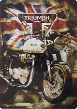 GENUINE Triumph Motorcycles Thruxton Union Jack Garage Sign Bonneville 45% OFF