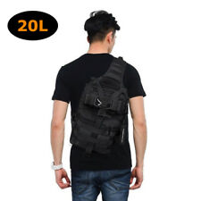 Military Tactical Assault Pack Sling Backpack Army Outdoor Molle Rucksack Bag