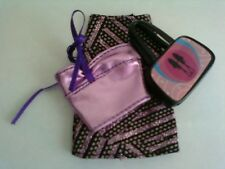 My Scene / Barbie Doll Clothes Outfit Sparkly Skirt Shiny Top & Purse Lot