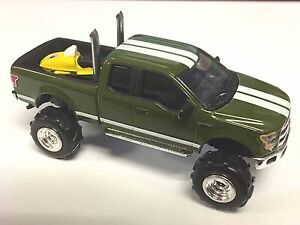 Ford, F-150, 2015 , 1/64 custom lifted ford, G5 Lift Kit, Dual Pipes, Snowmobile
