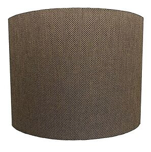 Lampshades Ideal To Match Brown Linen Curtains & Brown Linen Cushion Covers.