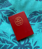 The Manuscript Isaac Bashevis Singer Tamazunchale Press Miniature Book, Marbled