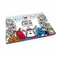 Shades of Kawaii Postcard Colouring Book By Miss Wah - Exclusive to OMG!