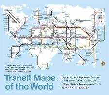 Transit Maps of the World by Mark Ovenden (2015, Paperback, Revised)