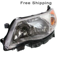 Halogen Head Lamp Assembly Driver Side Fits 2009-2013 Subaru Forester SU2502132