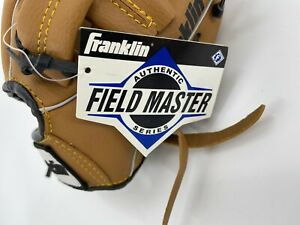 New Franklin Youth Baseball Glove Leather Field Master 4609 9.5 Inch Left Hand