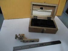 Lomo Russia Berek Slide Compensator Assembly Microscope Part As Pictured F4 A 66