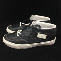 VANS VAULT Men's OG Half Cab LX Leather Black DEADSTOCK VN0A3DP6L3A FAST SHIP