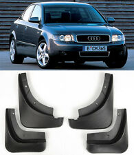 OE 4 Pcs Front Rear Splash Mud Guards Flaps Mudguard Set For 02-05 Audi B6 A4