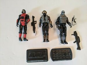 G.I. Joe Cyber Ninja Neo Viper Flash Gambello Lot Retaliation Rise of Cobra