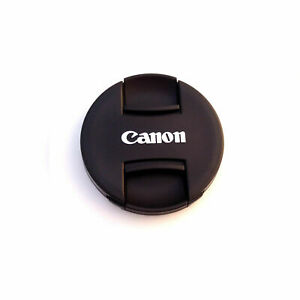 Lens Cap Compatible Canon 49 52 55 58 62 67 72 77 82mm Len Snap On Replacement