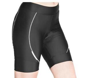 Lambda Cycling Bike Knicks padded shorts Ladies Womens Black S M L XL XXL