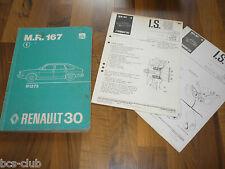 RENAULT 30 R30 Auflage 1975 Motor Technik Fahrwerk General WERKSTATT HANDBUCH