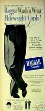 1955 Mickey Mantle New York Yankees Baseball Haggar Slacks Company Dallas Art Ad