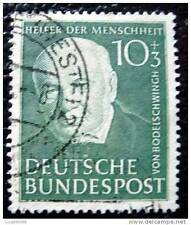 GERMANIA RFG - francobollo - yvert e tellier n°30 obliterati - stamp germany