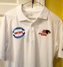 Men's Nike Golf Tech Core Block White Golf Polo 2XL Panther Racing Indy 500