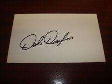 Dale Douglass PGA Golf Colorado Signed 3X5 Index Card Authentic Autograph M7