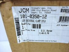 "(NEW) JCM 3"" Universal Clamp/Coupling P/N 101-0350-12"