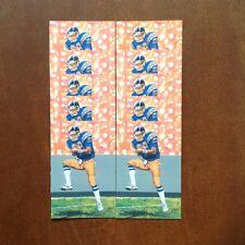 Kellen Winslow Chargers Lot of 10 unsigned Goal Line Art Cards