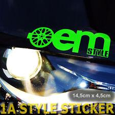 OEM style BBS pegatinas llantas estrella embellecedores paso de rueda MCA piezas