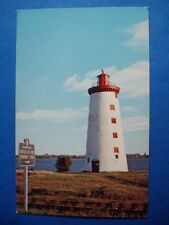 LIGHTHOUSE AT HISTORIC SITE BATTLE OF THE WINDMILL PRESCOTT CANADA POSTCARD