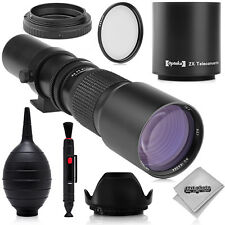 500mm/1000mm Telephoto Lens for Sony NEX a7r a7 a6300 a6000 a5100 a5000 a3000 7
