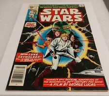 Star Wars #1 1977 first printing comic book Marvel - Ungraded but great