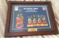2004 ATHENS OLYMPIC Coca Cola Puzzle Pin Set